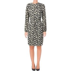 Ralph Lauren Long Sleeve Floral Print  Dress